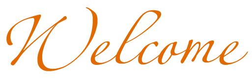 Welcome Orange