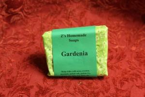 Homemade Z's Gardenia Soap