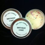 birthday cake tin