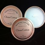 clean cotton tin