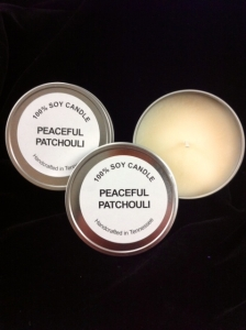 peaceful patchouli tin