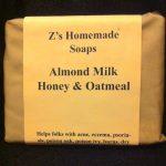 Almond Milk Honey & Oatmeal