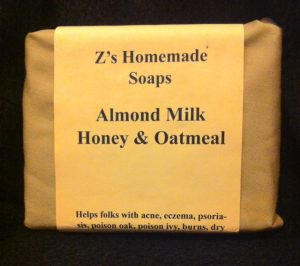 Almond Milk Honey & Oatmeal