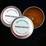 sandlewood tin