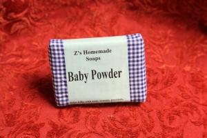 Homemade Zs Baby Powder Soap