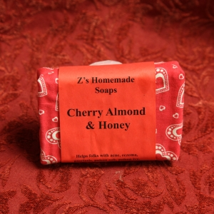 Homemade Zs Cherry Almond Soap