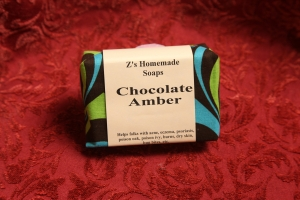 Homemade Zs Chocolate Amber Soap