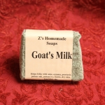 Homemade Zs Goats Milk Soap