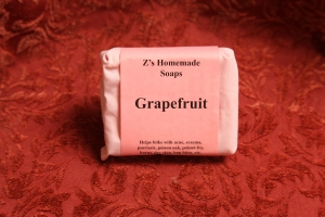 Homemade Zs Grapefruit Soap