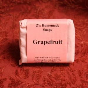 Homemade Zs Grapefruit Soap