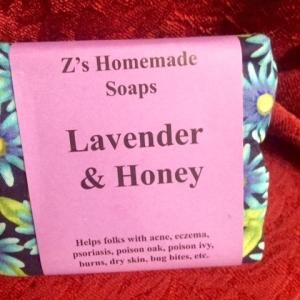 Homemade Zs Lavender & Honey