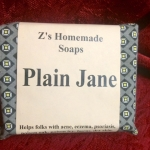 Homemade Zs Plain Jane soap