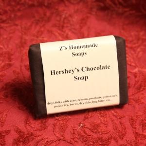 Homemade Zs Chocolate Hershey Soap