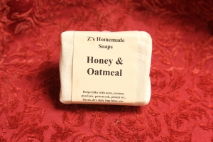 Homemade Zs Honey & Oatmeal Soap