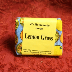 Homemade Zs LemonGrass Soap
