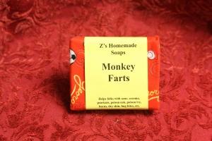 Homemade Monkey Farts Soap