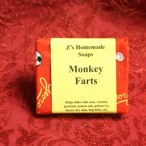 Homemade Monkey Farts Soap