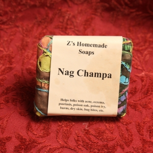 Homemade Zs Nag Champ Soap