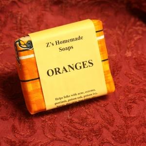Homemade Zs Oranges Soap