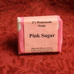 Homemade Zs Pink Sugar Soap