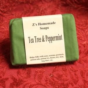 Homemade Zs Tea Tree & Peppermint